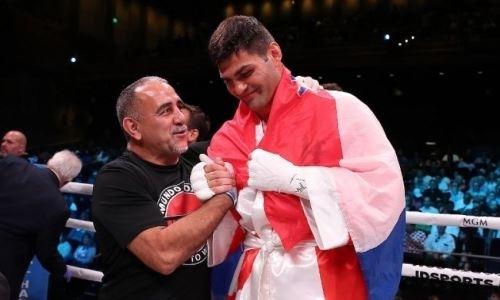«Невероятно техничный». Тренер экс-боксера «Astana Arlans» назвал его главную цель