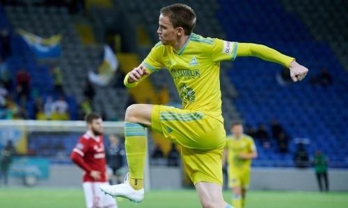 Томасов побил рекорд «Астаны» по результативности за один сезон в КПЛ