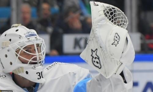 Голкипер «Динамо» после разгрома от «Барыса» покинул расположение команды. Стала известна причина