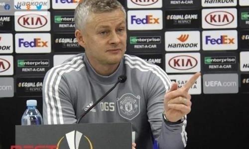 «Манчестер Юнайтед» нашел замену Сульшеру после поражения от«Астаны» вЛиге Европы