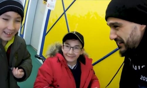 «КраСава» провел два дня с казахстанским «Ником Вуйчичем». Видео