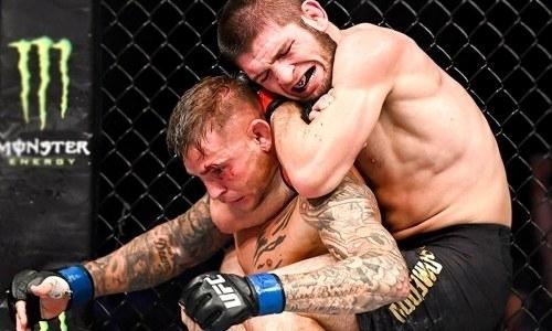 «Нурмагомедов неодин, кто способен забить соперника впартере». Чемпион UFC сделал громкое заявление