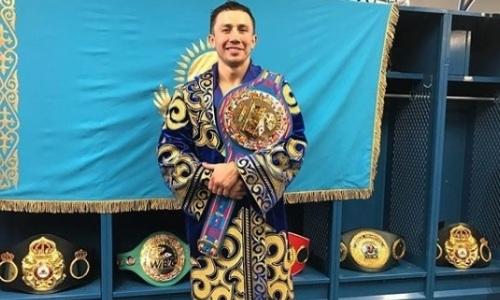 Головкин узнал свое место в рейтинге чемпионов мира за всю историю бокса