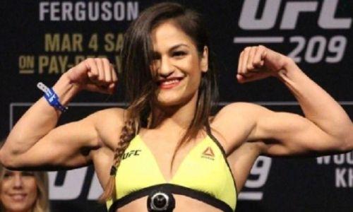 Девушка-боец из UFC полностью разделась на взвешивании. Видео