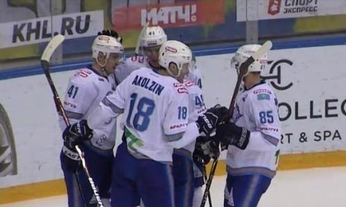 Видеообзор матча КХЛ «Сочи» — «Барыс» 1:4
