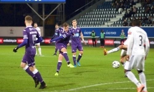 Европейский клуб защитника сборной Казахстана вдевятером вырвал ничью на97-й минуте вматче чемпионата