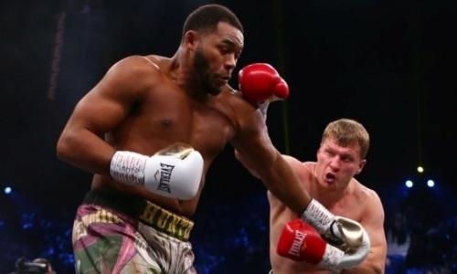 Сенсационно завершился бой Поветкин — Хантер за право сразиться за титул чемпиона мира