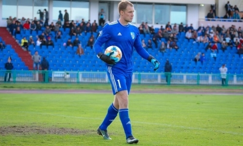 Шабанов — в тройке вратарей-рекордсменов «Жетысу»