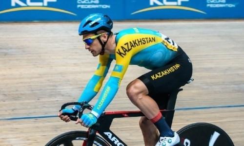 Казахстанец стал третьим на этапе Кубка мира по велоспорту на треке
