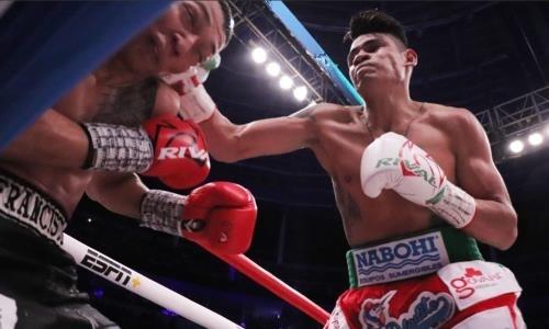 Чемпион мира WBO из Мексики не стеснялся избивать соотечественника, пока не выиграл нокаутом. Видео