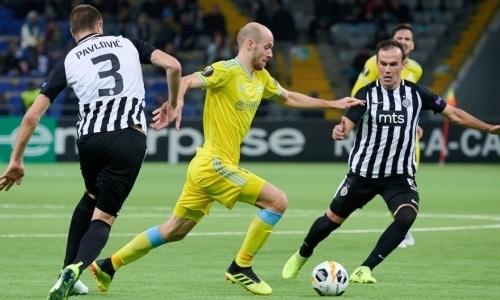 Каковы шансы «Астаны» выиграть на выезде у «Партизана» последний матч в сезоне