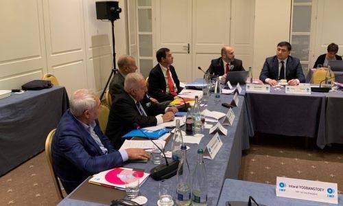 Президент Федерации тяжелой атлетики принял участие в заседании исполнительного комитета IWF