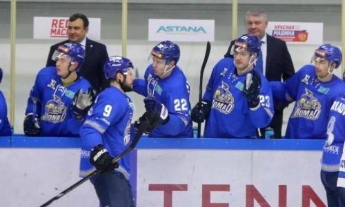 11 шайб на двоих. Фарм-клуб «Барыса» проиграл «Барсу» в матче ВХЛ