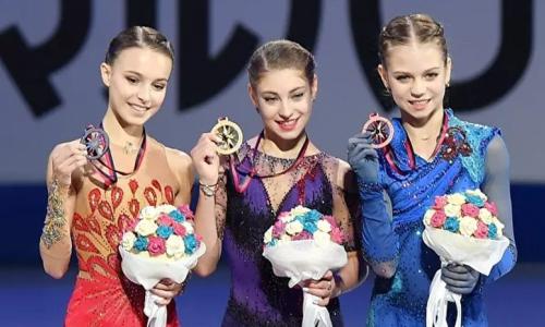 «Впереди планеты всей». Российская ученица тренера Турсынбаевой названа лучшей фигуристкой в мире