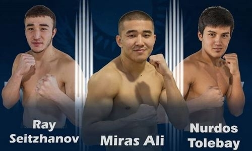 Три казахстанских боксера узнали соперников по боям в Алматы на День Независимости