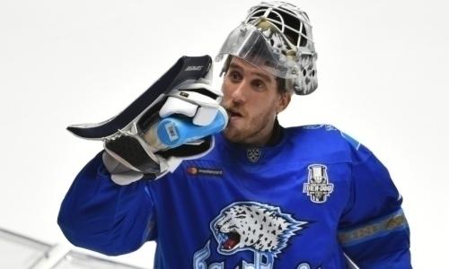 Сейв Карлссона в матче «Барыс» — «Авангард» вошел в ТОП-10 лучших сейвов недели КХЛ
