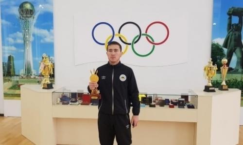 Спортсмен из Карагандинской области стал обладателем премии «Алтын Тұғыр-2019»