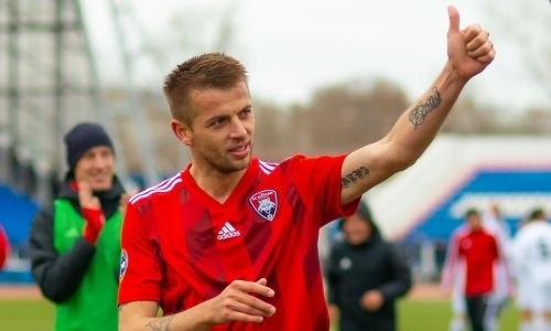 Легионер КПЛ набил татуировки в честь клуба и завоевания Кубка Казахстана. Фото