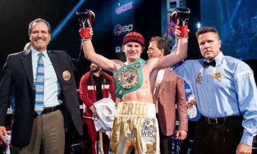 Тренировавшийся с Головкиным украинец нокаутировал экс-соперника Алимханулы и одержал 17-ю досрочную победу кряду