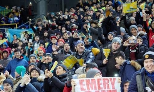Сколько зрителей посетили матчи «Астаны» в нынешнем еврокубковом сезоне