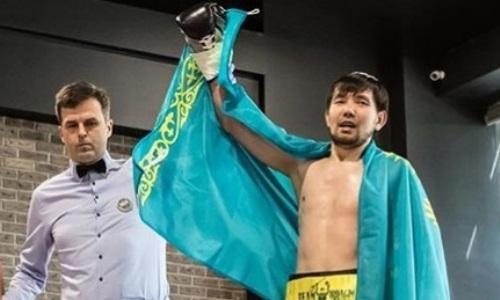 Казахстанский певец-боксер нокаутом африканца с 28 победами выиграл титульный бой