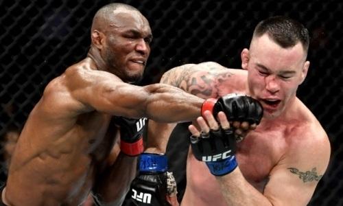 Главный бой турнира за титул UFC завершился нокаутом. Видео