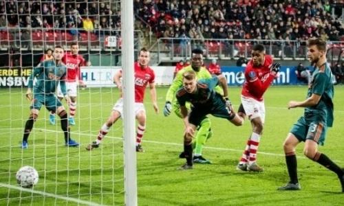 Победивший «Астану» голландский клуб на 90-й минуте забил «Аяксу» и вышел в лидеры чемпионата