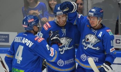 Шикарно. «Барыс» всухую разнес «Торпедо» и выиграл третий подряд гостевой матч КХЛ