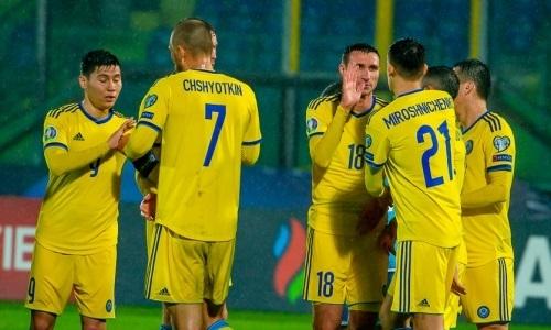 Сборная Казахстана за год поднялась на одну строчку в рейтинге FIFA