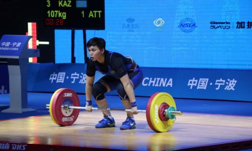 Казахстанская тяжелоатлетка стала четвертой на лицензионном турнире в Катаре