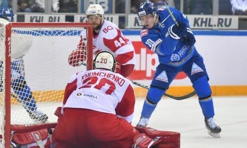 Праздник не испортили. «Барыс» проиграл «Спартаку» и прервал великолепную победную серию в КХЛ