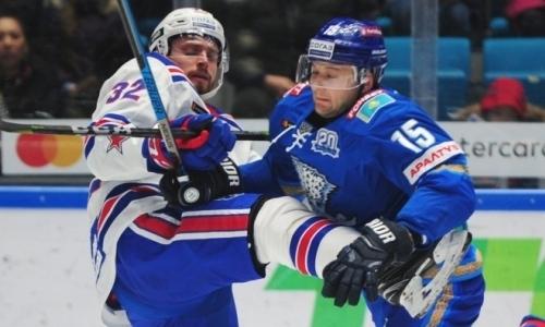 Вынос в Нур-Султане. «Барыс» забросил на 11-й секунде и был уничтожен СКА в домашнем матче КХЛ