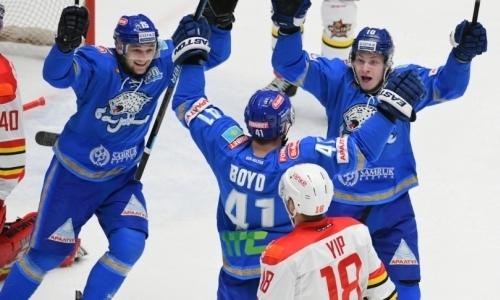 Без особого шика. «Барыс» одержал волевую победу в своем последнем матче года в КХЛ