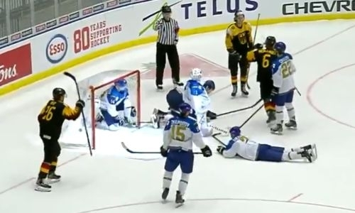 Жалкое зрелище. Сборная Казахстана пропустила четыре шайбы за пять минут и покинула элитный дивизион МЧМ по хоккею