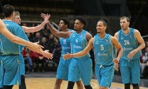 «Астана» дома одолела «Енисей» в матче ВТБ