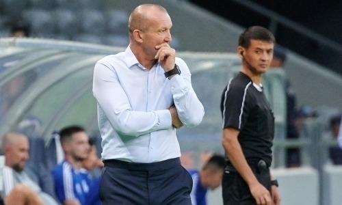 Главный тренер «Астаны» озвучил желаемых футболистов для своей команды