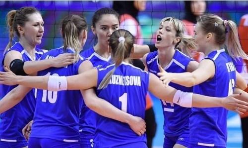 Женская сборная Казахстана одержала вторую победу в континентальном отборе