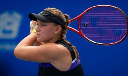20-летняя казахстанка вышла в финал турнира WTA в Китае и сыграет с россиянкой