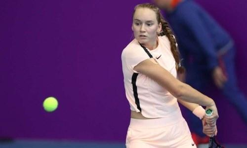 Рыбакина станет новой первой ракеткой Казахстана после выхода в финал турнира WTA