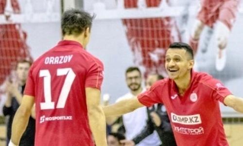 «Кайрат» обыграл «Окжетпес» в матче чемпионата РК