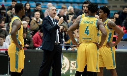 «Астана» в гостях проиграла аутсайдеру в матче Лиги ВТБ