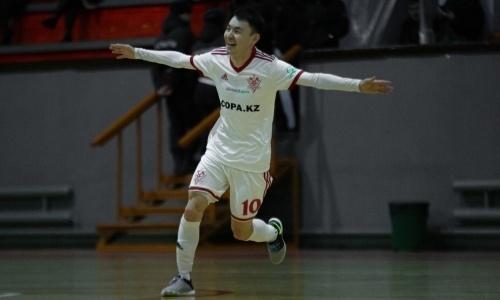 «Актобе» разнес «Каспий» в матче с девятью голами в чемпионате РК