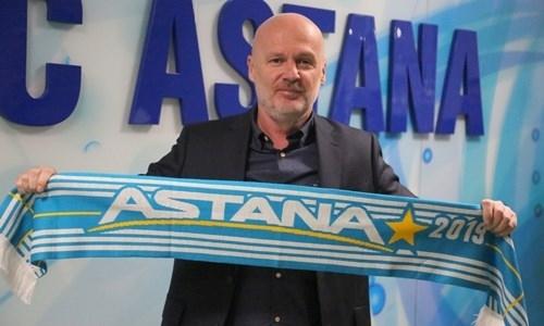 Новый главный тренер «Астаны» озвучил свои задачи после официального назначения