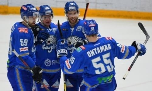 «Барыс» победил «Салават Юлаев» в четвертый раз подряд в КХЛ