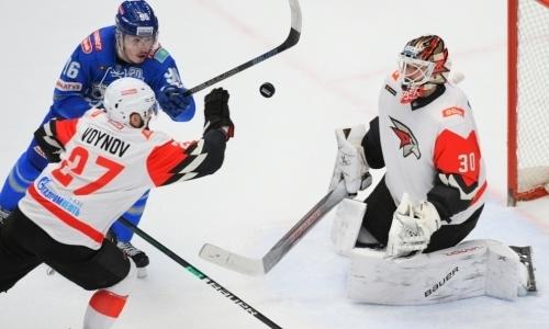«Самые важные битвы». Вратарь «Авангарда» оценил борьбу с «Барысом» за лидерство в дивизионе КХЛ