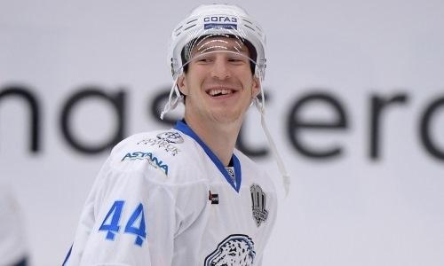Хоккеист «Барыса» назначен капитаном команды на Матч звёзд КХЛ