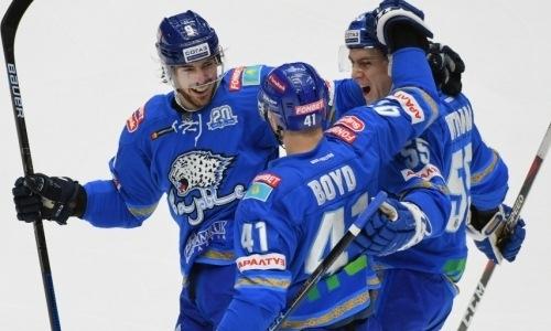 Озвучено очевидное преимущество «Барыса» перед матчем с «Металлургом» в КХЛ