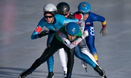 Казахстанская конькобежка лишилась медали из-за ошибки партнера по команде на ЮОИ-2020