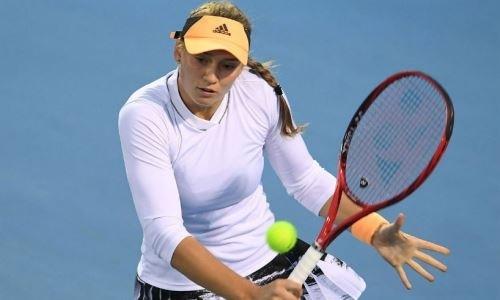 Рыбакина стала полуфиналисткой турнира WTA в Австралии