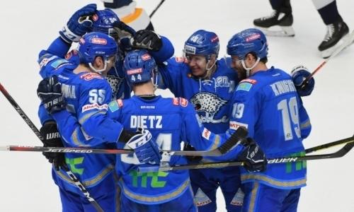 Заставили понервничать. «Барыс» победил магнитогорский «Металлург» и выиграл третий подряд матч КХЛ